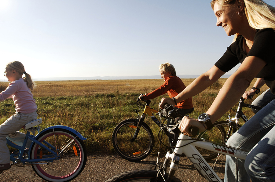 Familien Fahrradtour am Neusiedler See